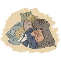 Apporter du linge de rechange et participer aux lessives au bénéfice des les personnes détenues.