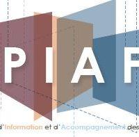 Le logo du programme PIAF (Point d'information et d'accompagnement des familles) proposé par Prison Justice 44