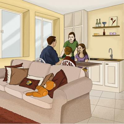 Unité de vie familiale