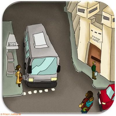 Accès à une établissement pénitentiaire par  les transports en commun