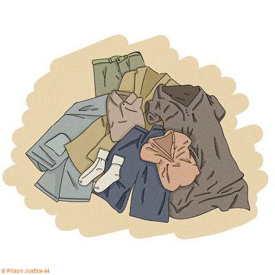 Apporter des vêtements et du linge de rechange et participer à l'entretien.