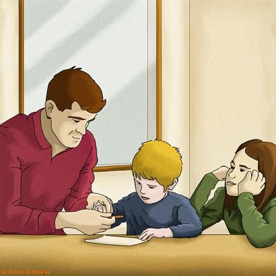 Pendant l'incarcération le parent incarcéré conserve son autorité parentale et peut rencontrer ses enfants