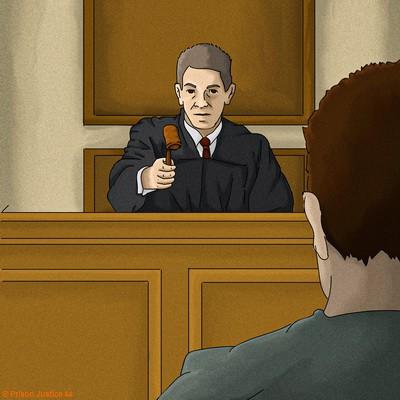 Le juge, la justice, la sentence ...