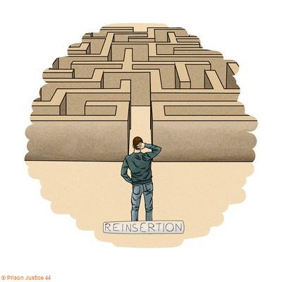 la réinsertion souvent un labyrinthe